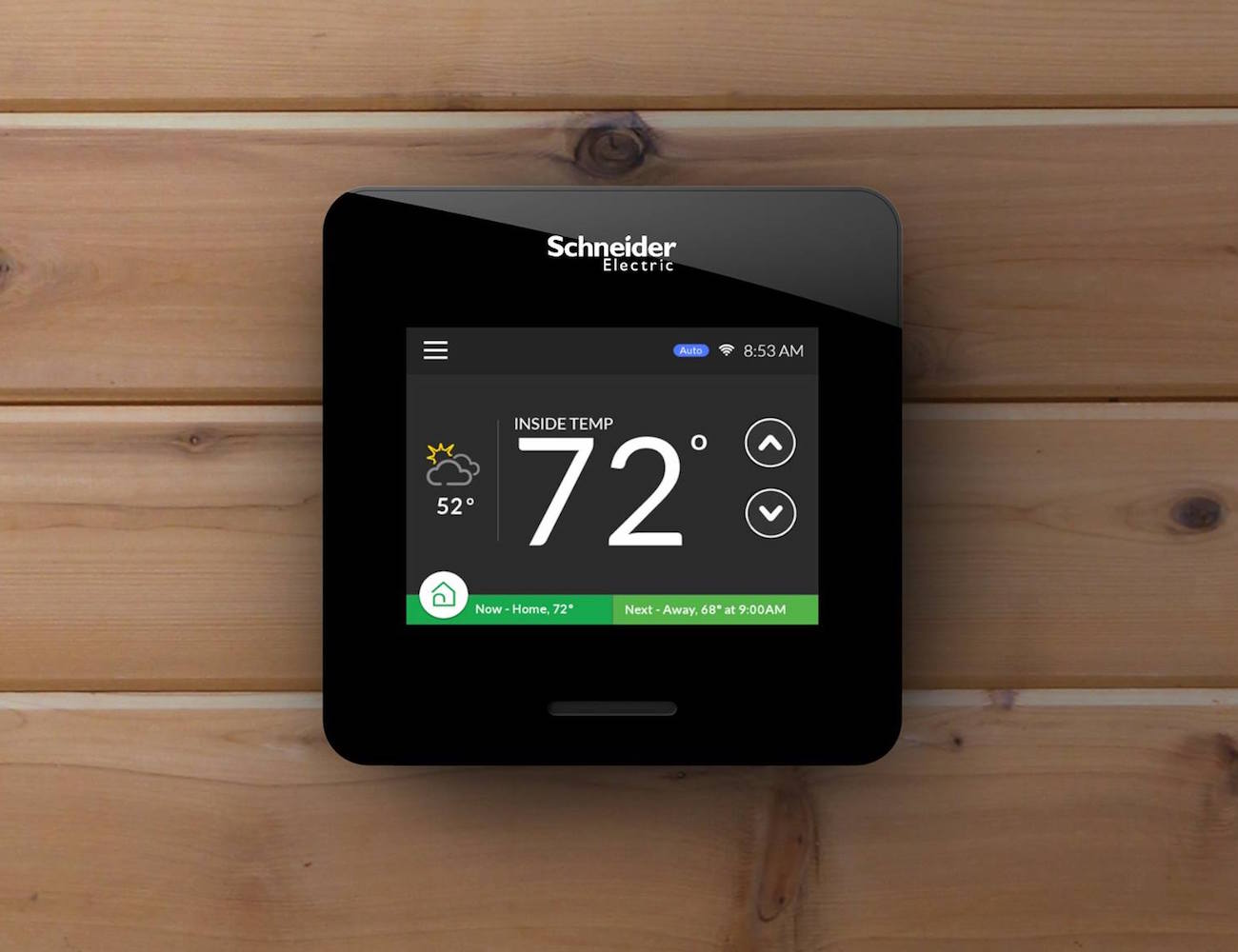 wiser air smart thermostat by schneider electric review. Black Bedroom Furniture Sets. Home Design Ideas