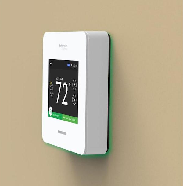 wiser air smart thermostat by schneider electric review the gadget flow. Black Bedroom Furniture Sets. Home Design Ideas