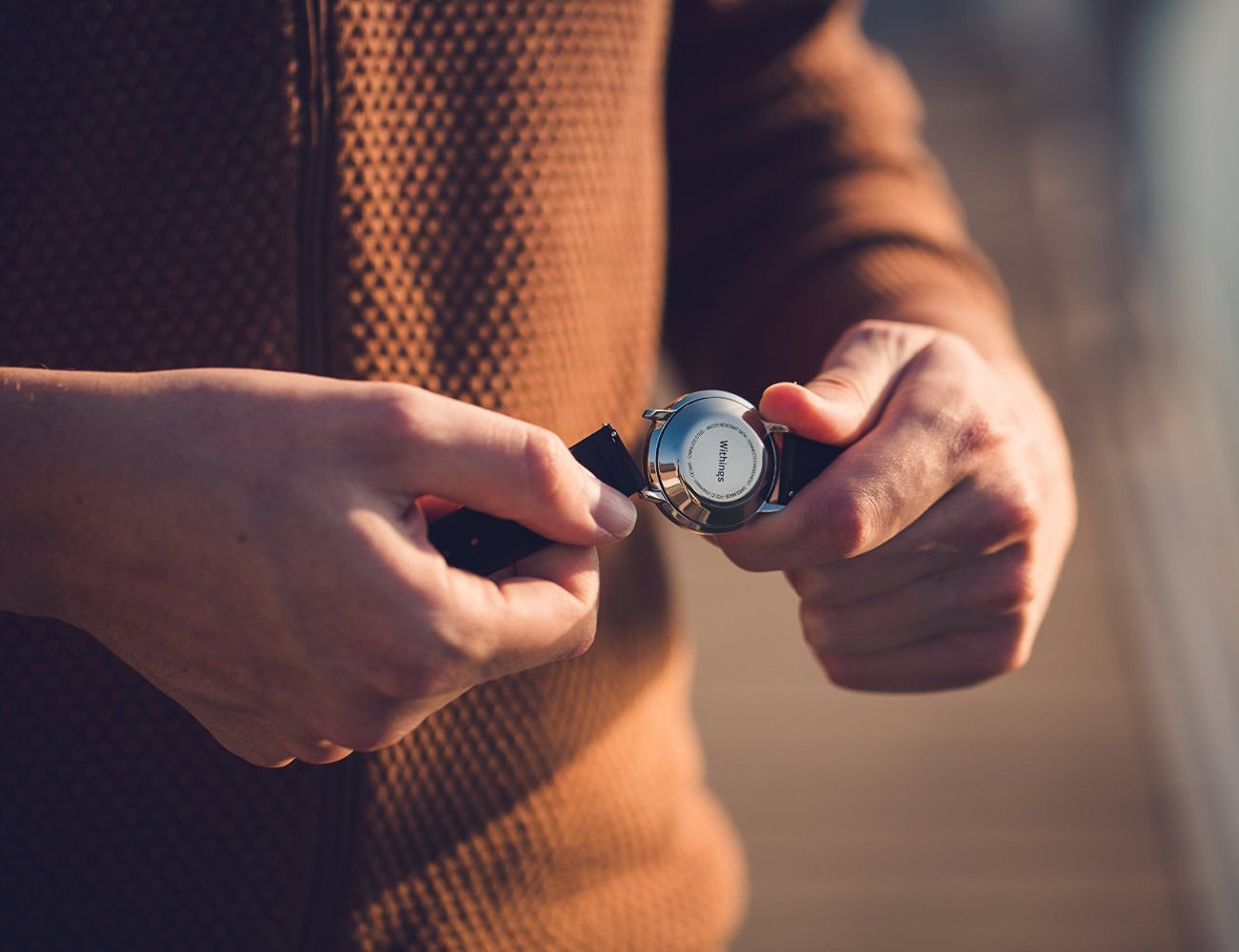 Withings Activité Sapphire Tracking Watch