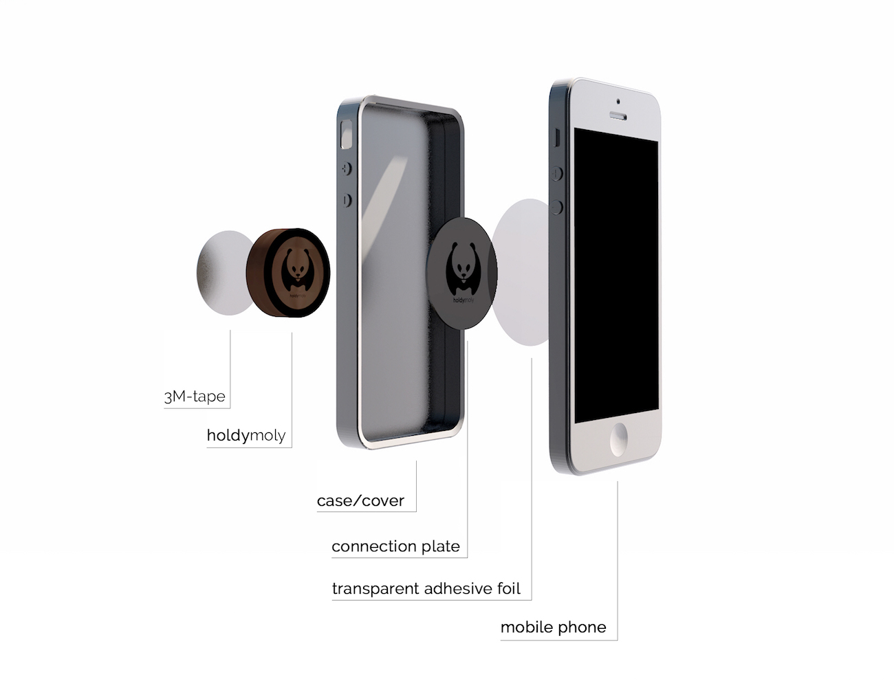 World's First Wooden – Magnetic Smartphone Holder