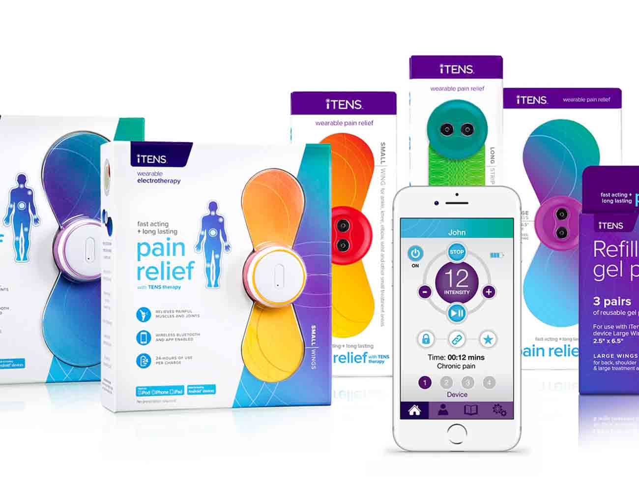 iTENS – The World's First Wearable TENS Device