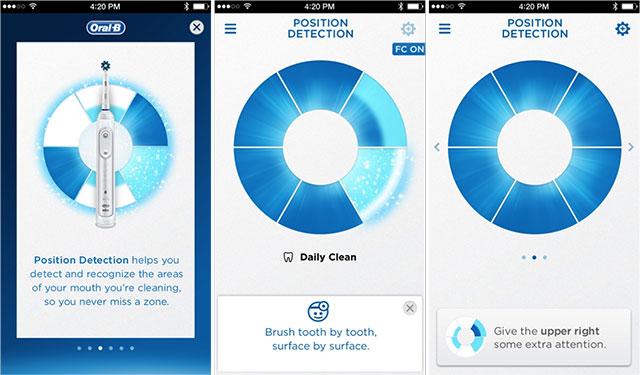 Oral-B Genius app