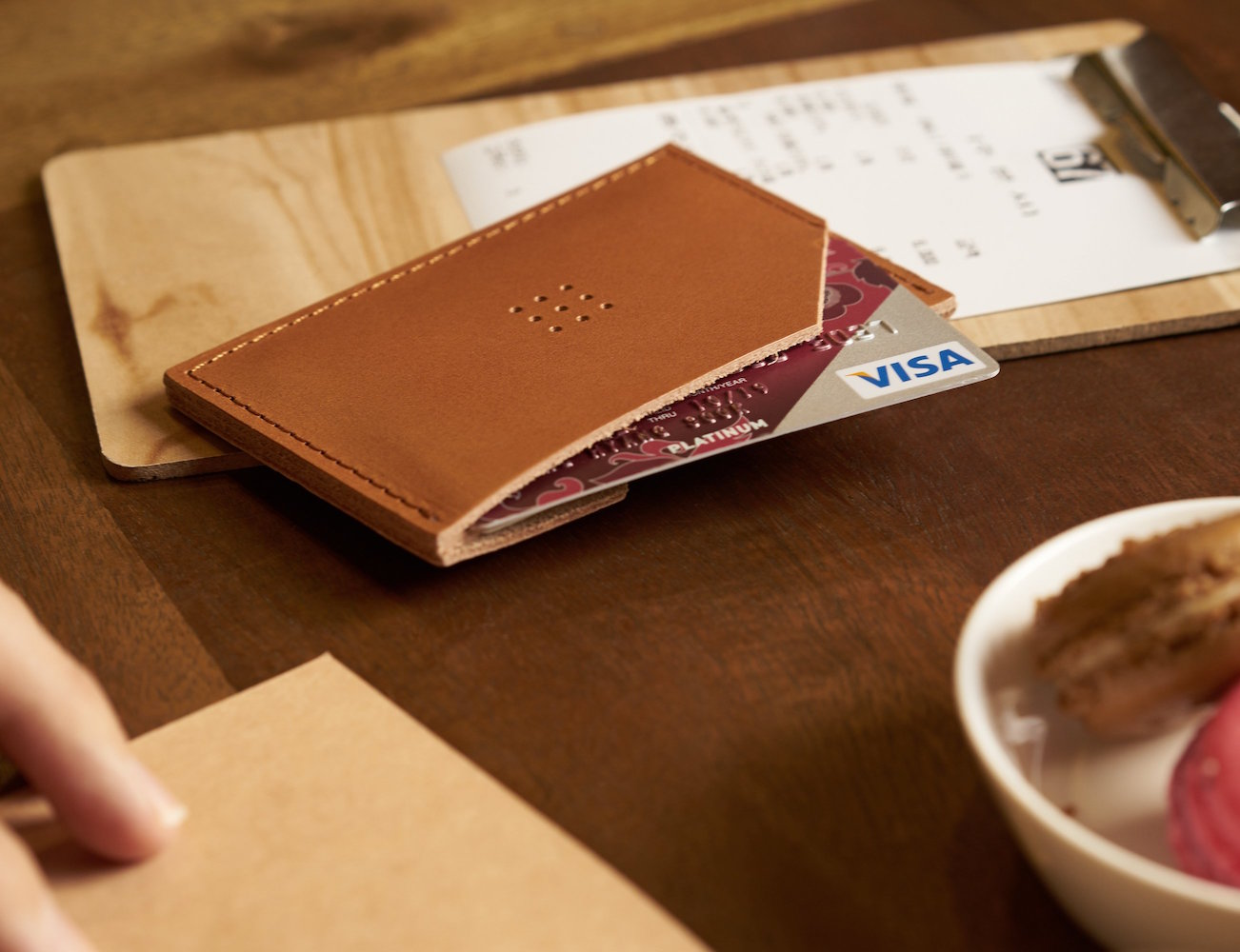 303 Camel Cardholder by Posh Projects