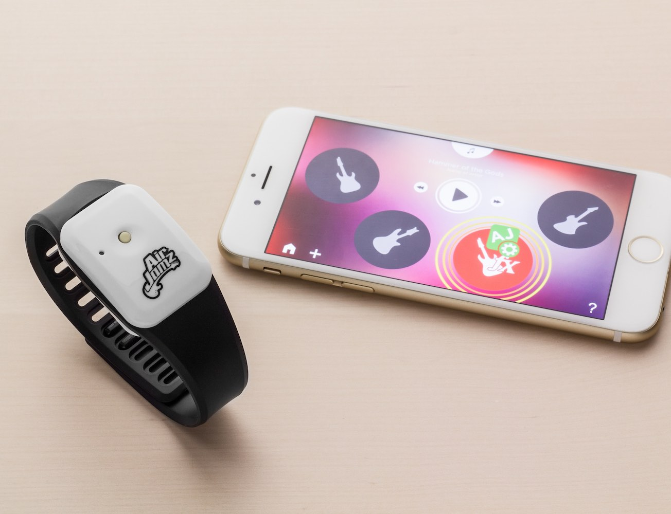 AirJamz – Wearable Air Guitar