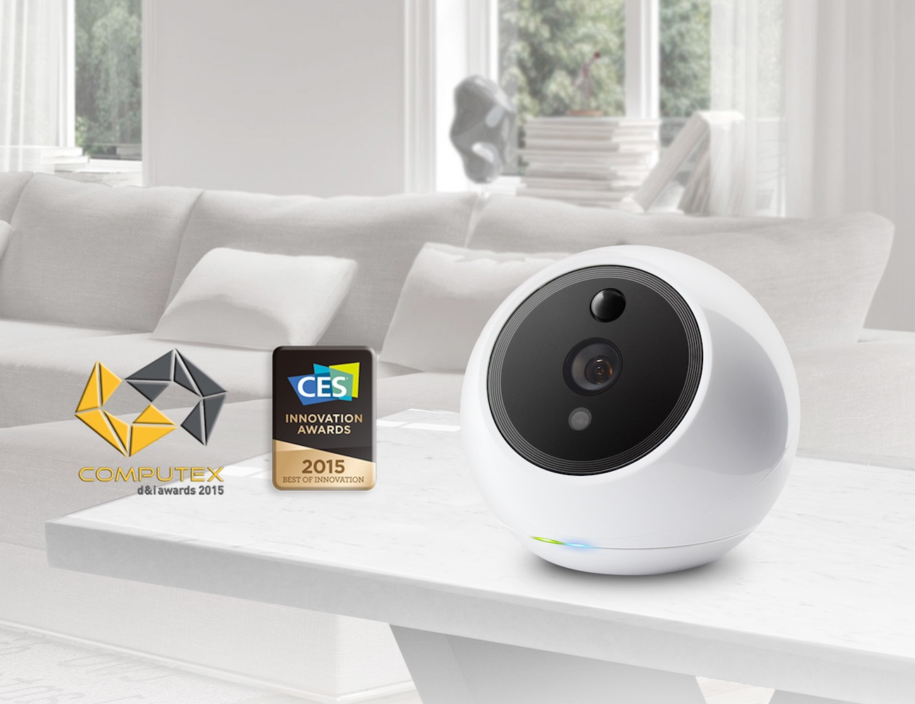 Amaryllo iCamPRO FHD Robotic Home Security Camera
