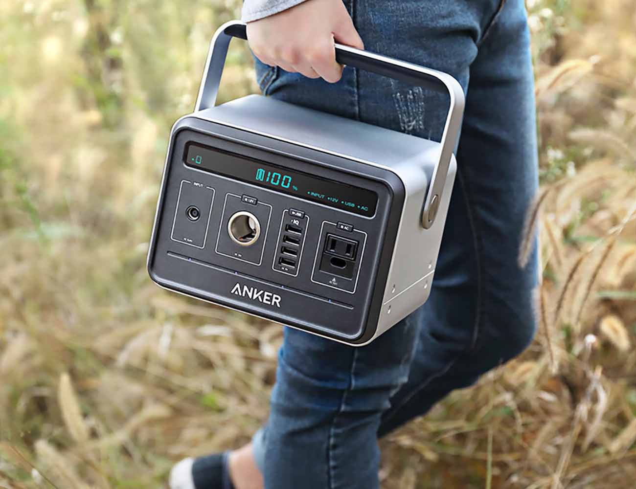 Anker+PowerHouse+Portable+Power+Supply