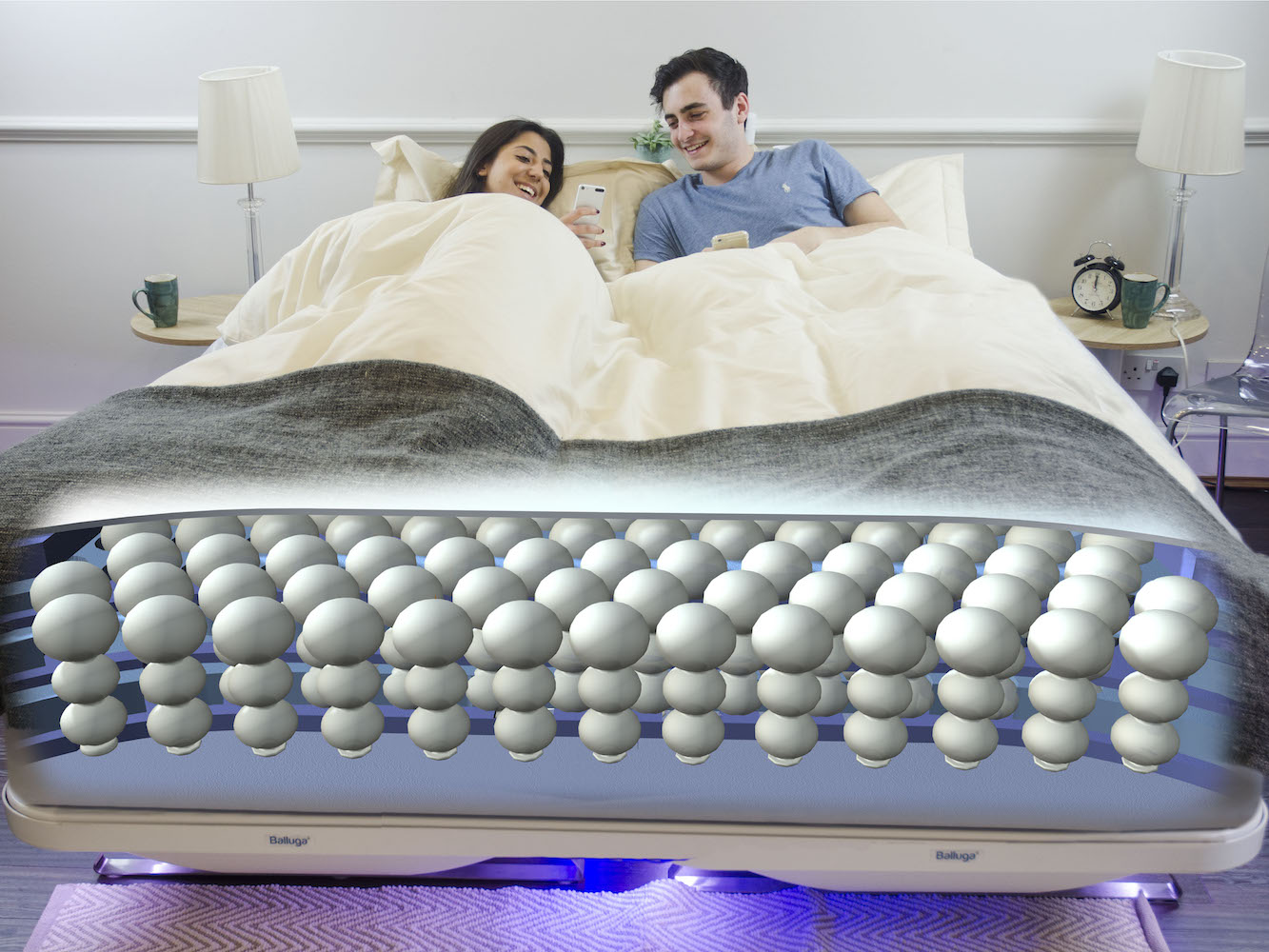 Balluga – The World's Smartest Bed