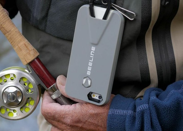 Beeline iPhone Case with Retractable Carabiner