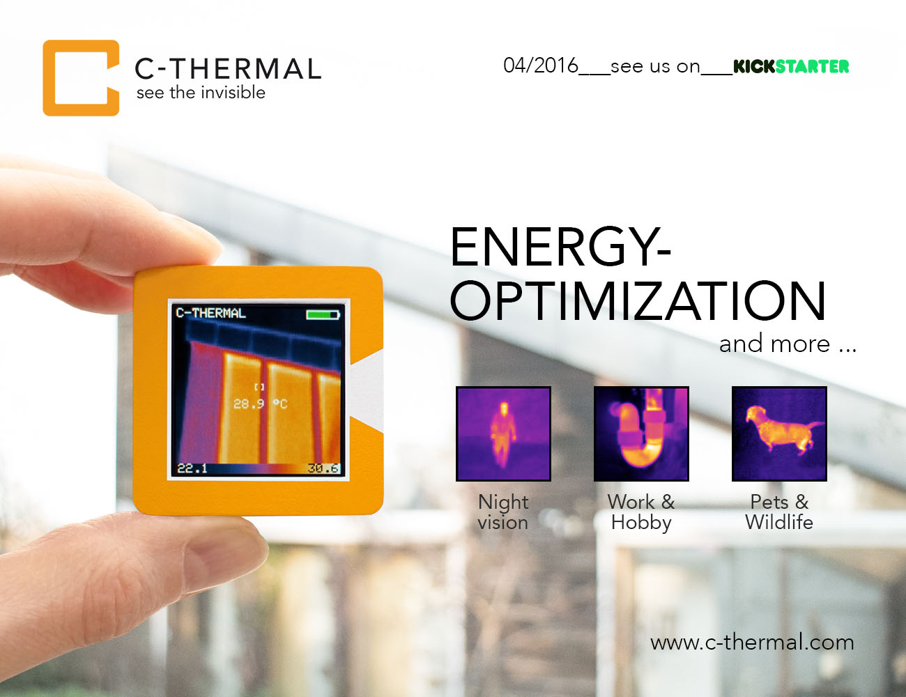 C-Thermal – The First Smart Thermal Imager