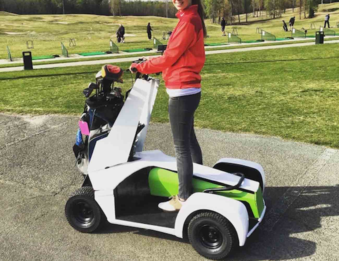 Caruca – A Single Rider, Electric Golf Scooter/Cart