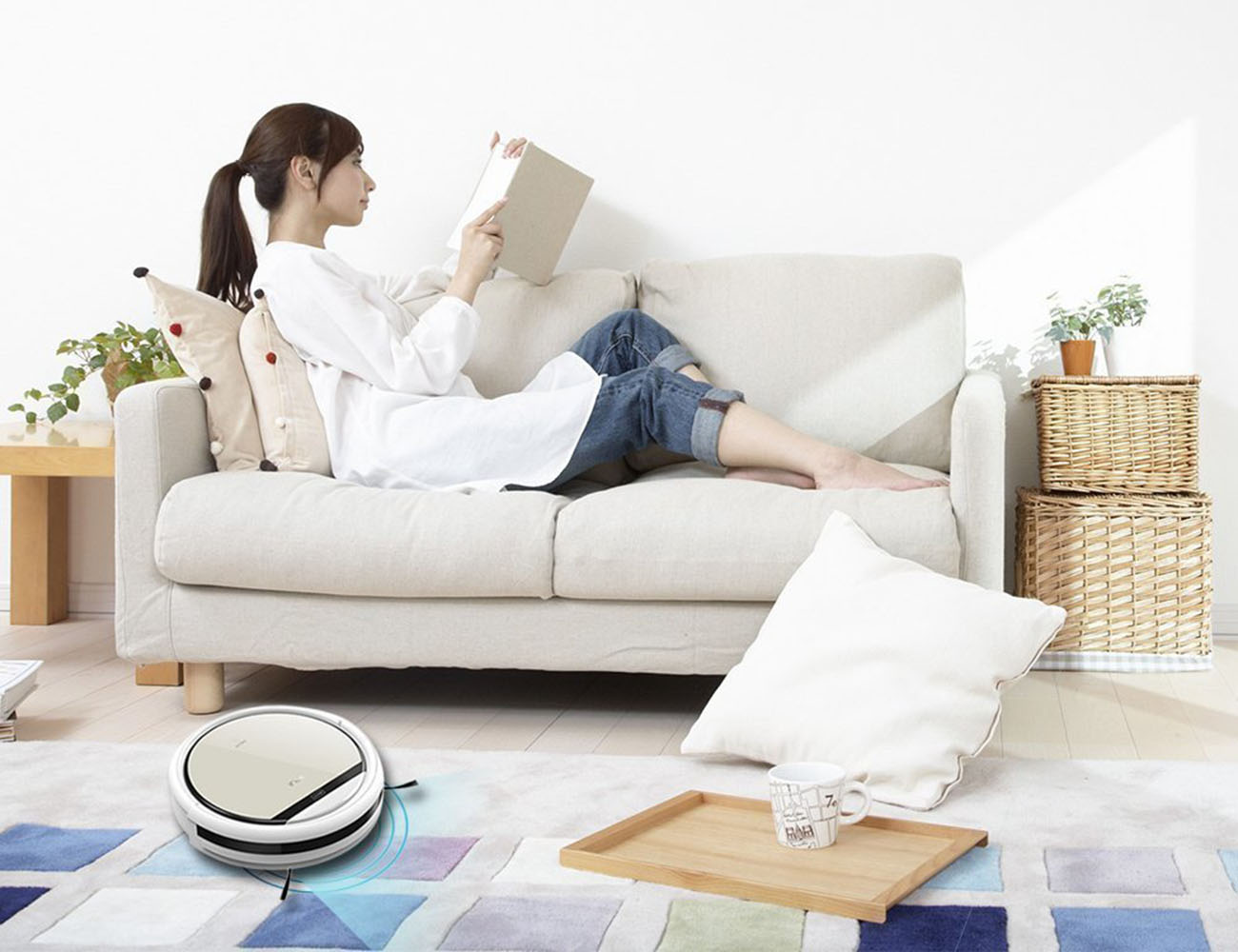 Chuwi+Ilife+V5+Pro+Intelligent+Robotic+Vacuum+Cleaner