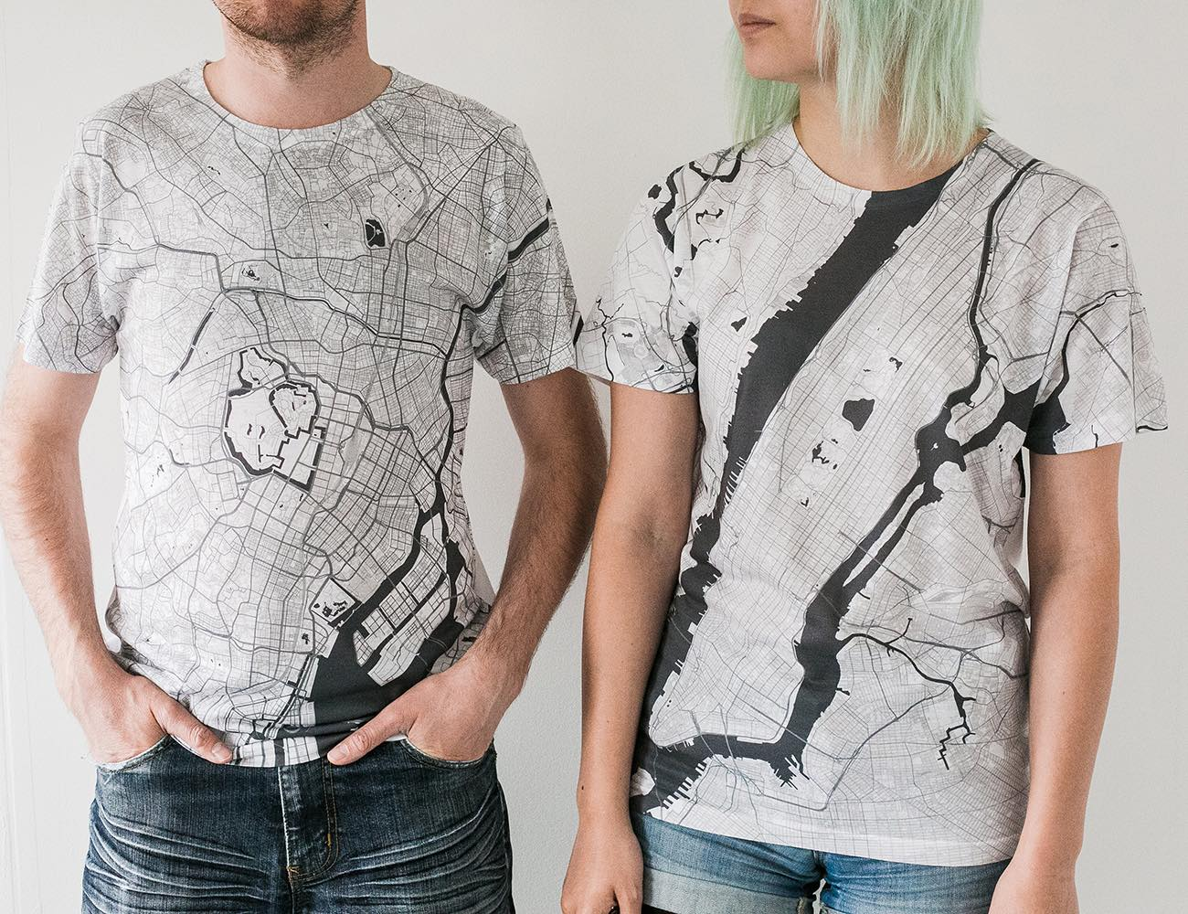 Citee Map T-Shirts