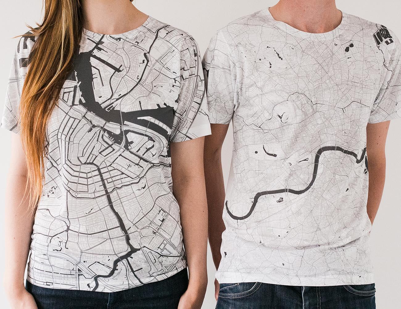 Citee Map T-Shirts