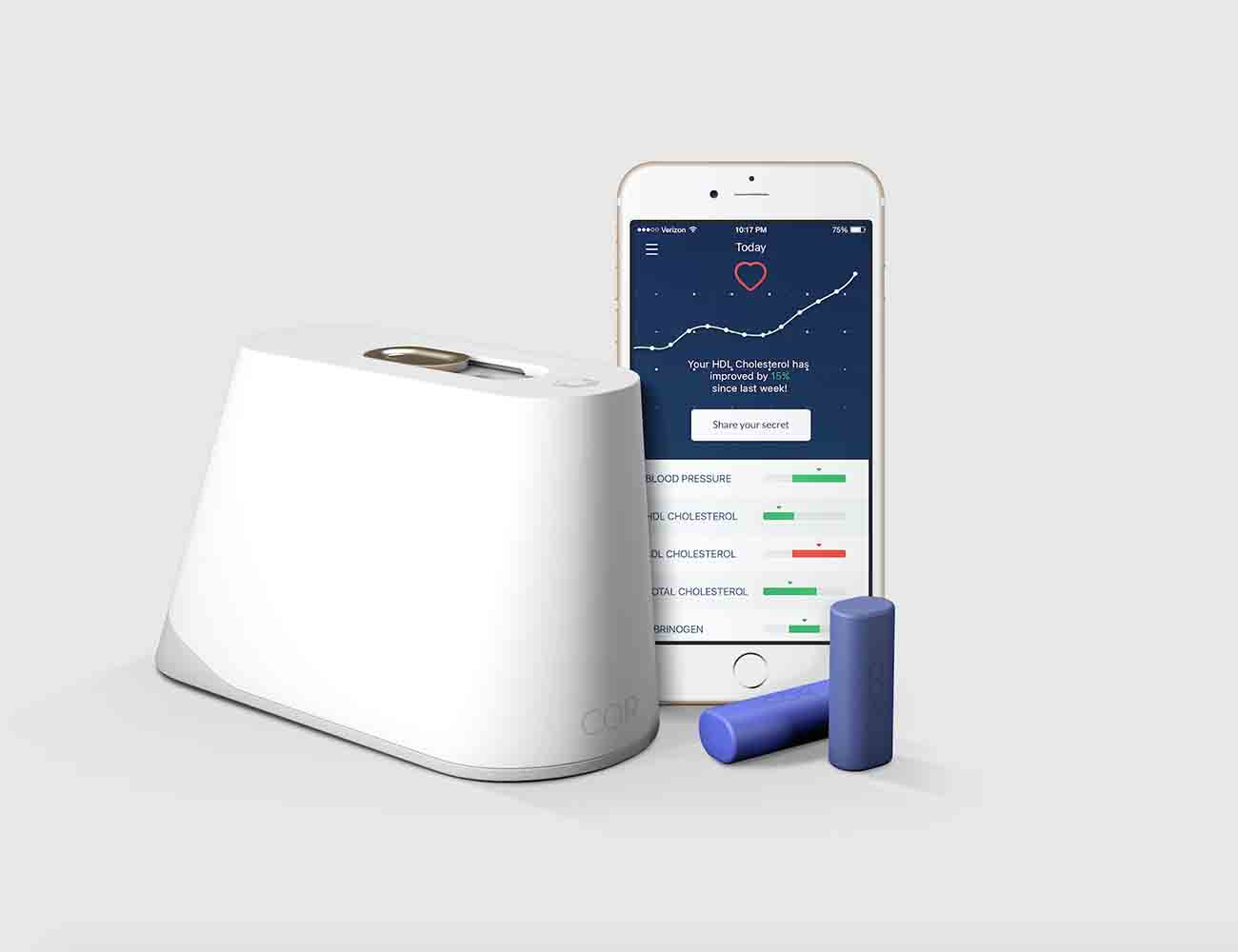 Cor Blood Sampling Health Tracker