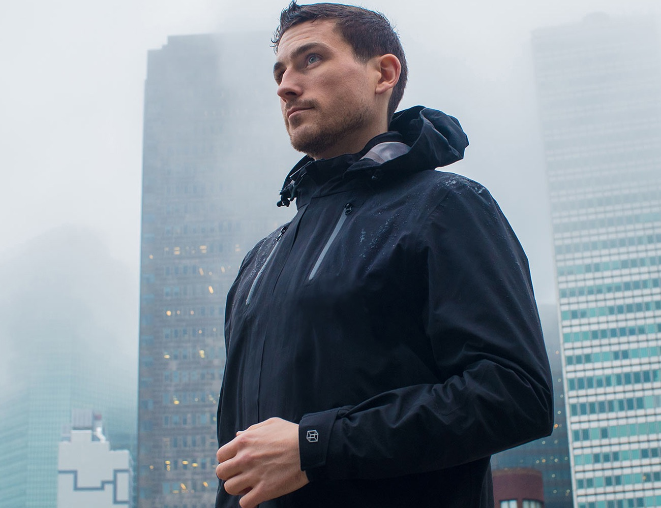 The Cubed Travel Jacket – A Waterproof Shell for Everyday