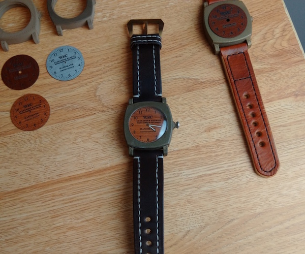 Custom 3d Printed Watches