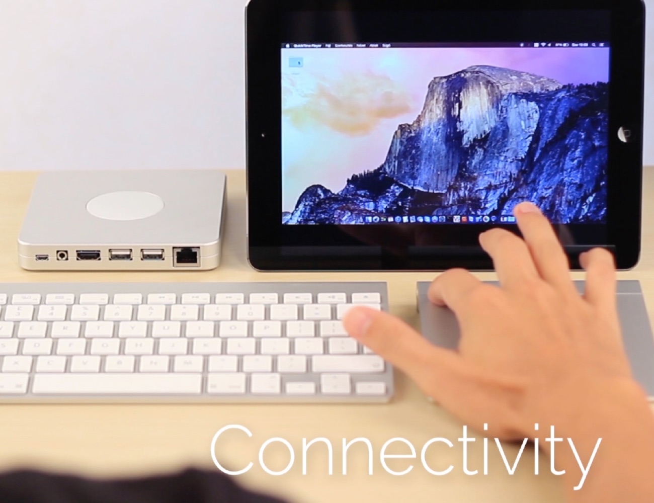 DoBox – Portable Wireless Dock for Apple Devices