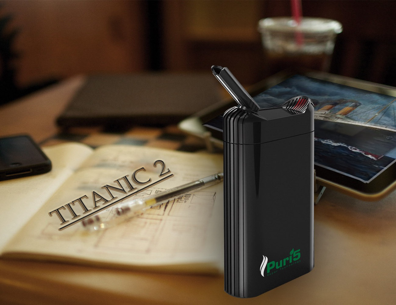 Dry Herb Vaporizer TITANIC 2