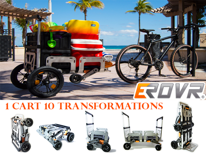 EROVR – A Transformable Dolly, Wagon, & Cart