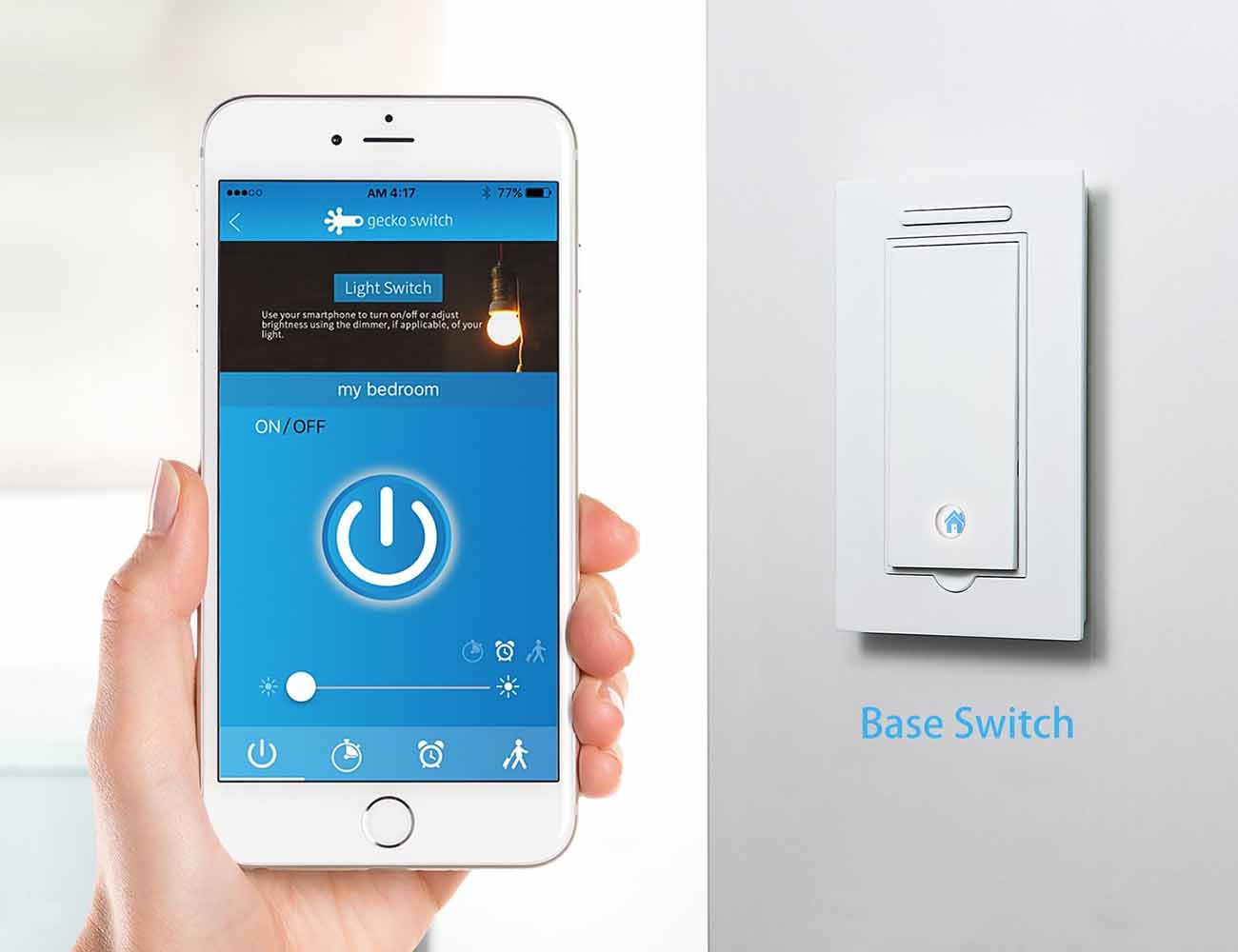 Gecko Switch – Your Movable Light Switch