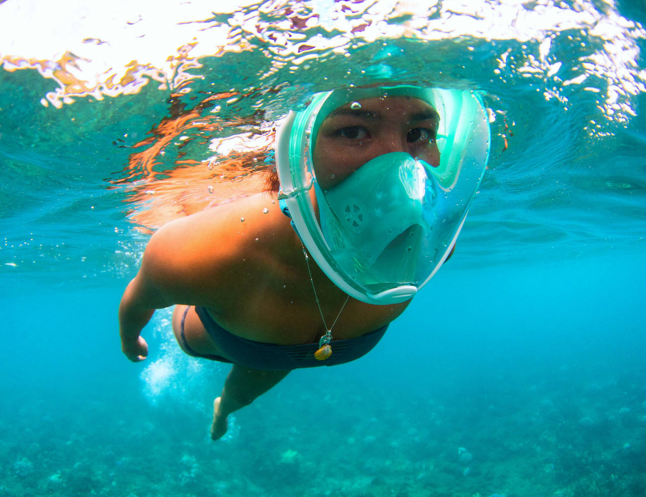 H20 Ninja Full Face Snorkeling Mask