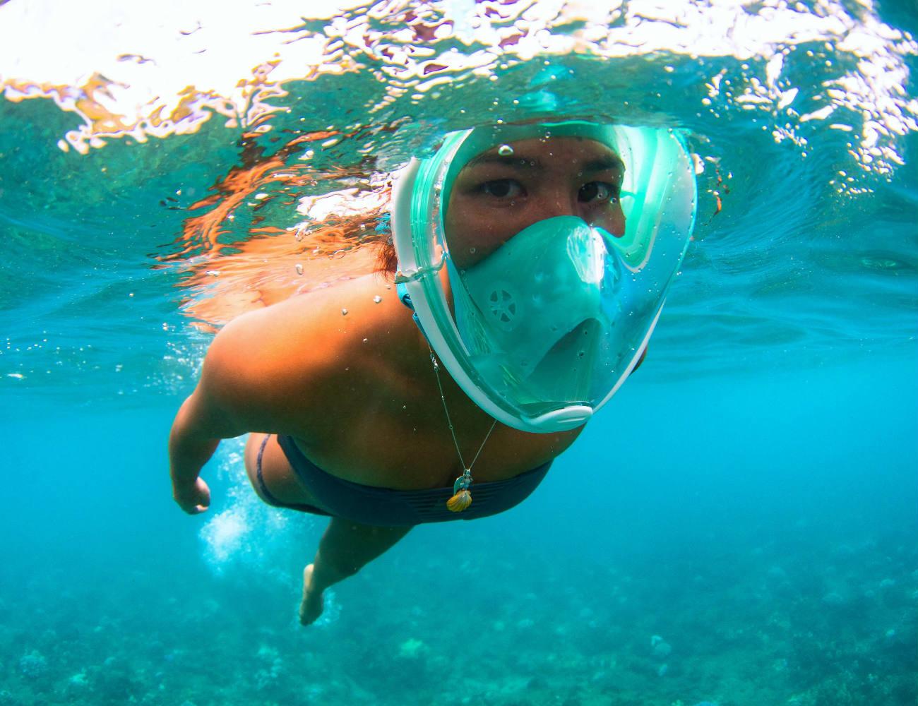 H20+Ninja+Full+Face+Snorkeling+Mask