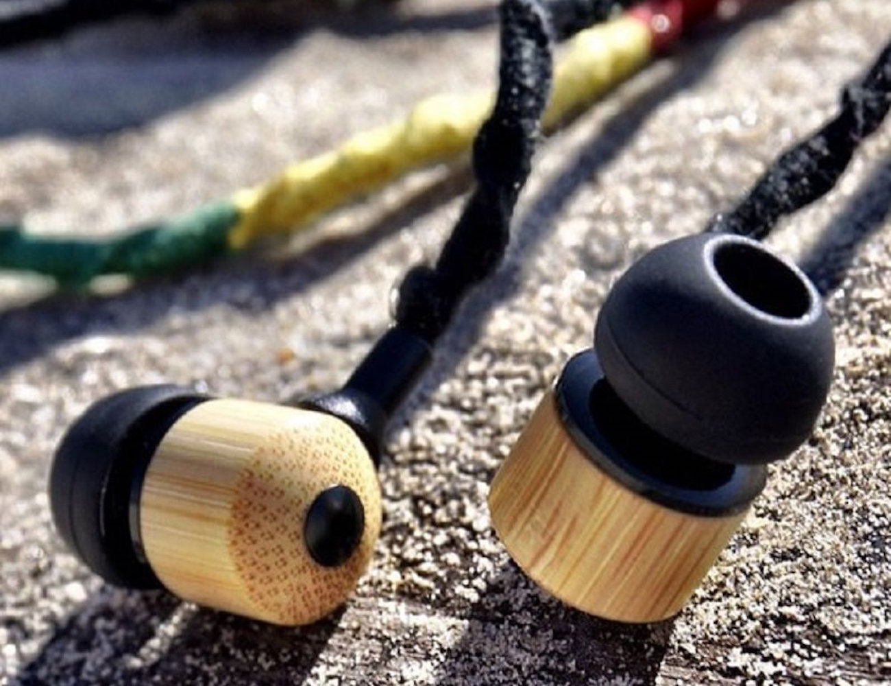 Hemp Earbuds by Jamboo