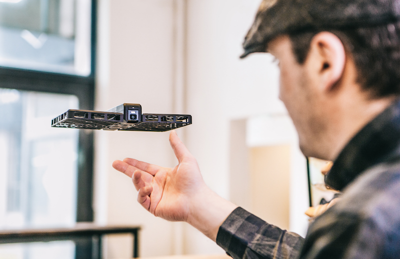 Hover Camera Is an Autonomous Selfie Drone that Folds Up for Transport