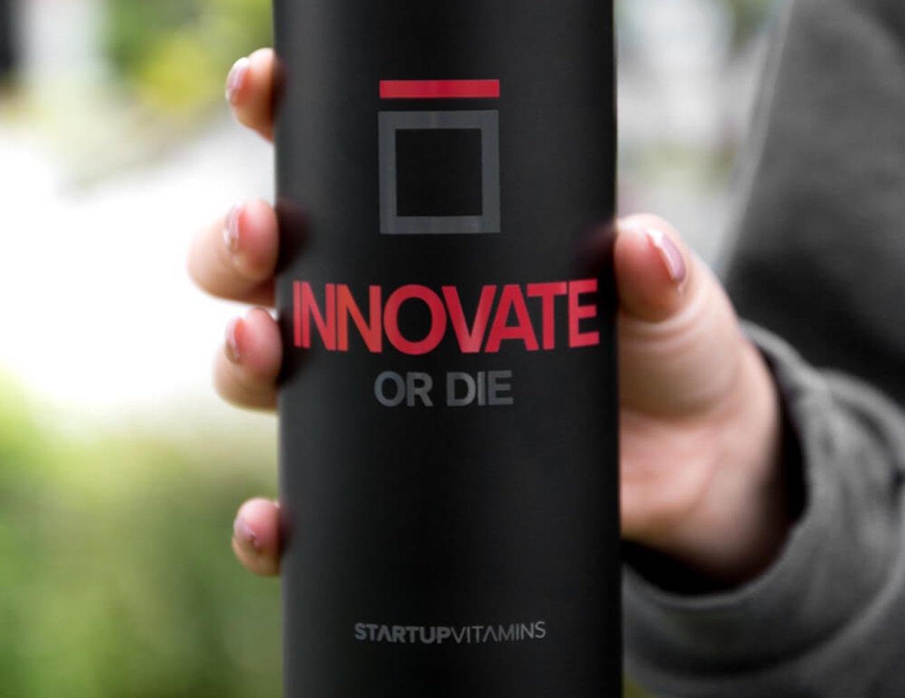 Innovate or Die Travel Mug