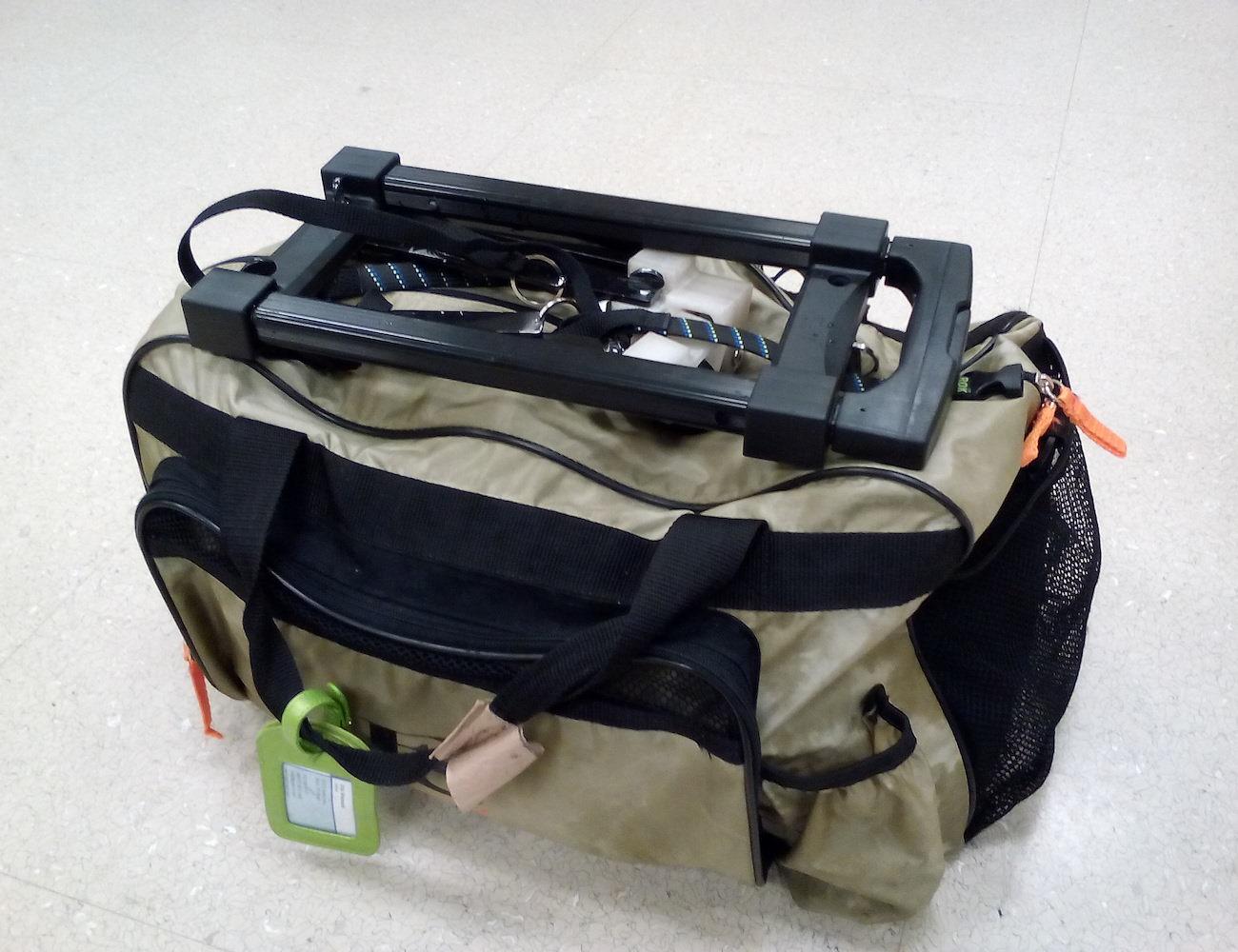 KwikT – Compat Mini Trolley For Smart Travelers