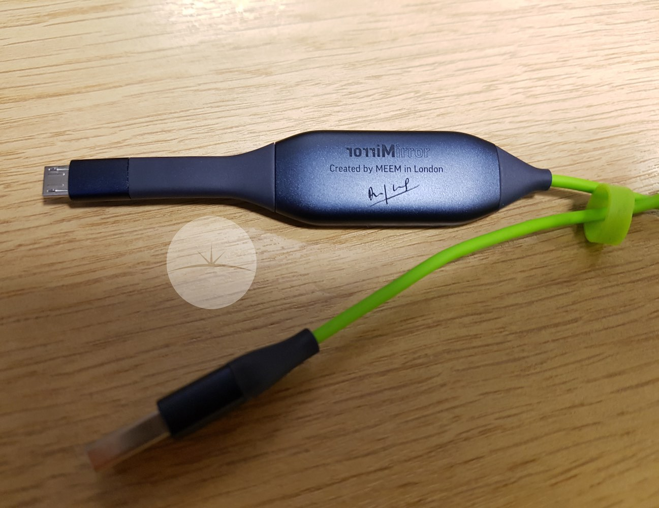 MEEM Charging Cable and Back Up Device