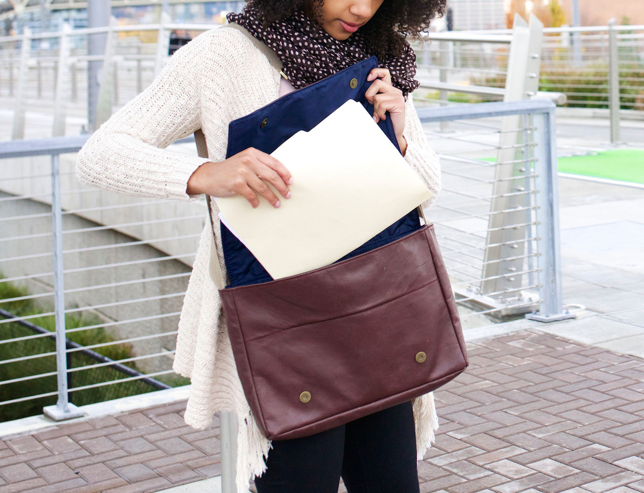 Carry-On Messenger Bag by LOOPTWORKS