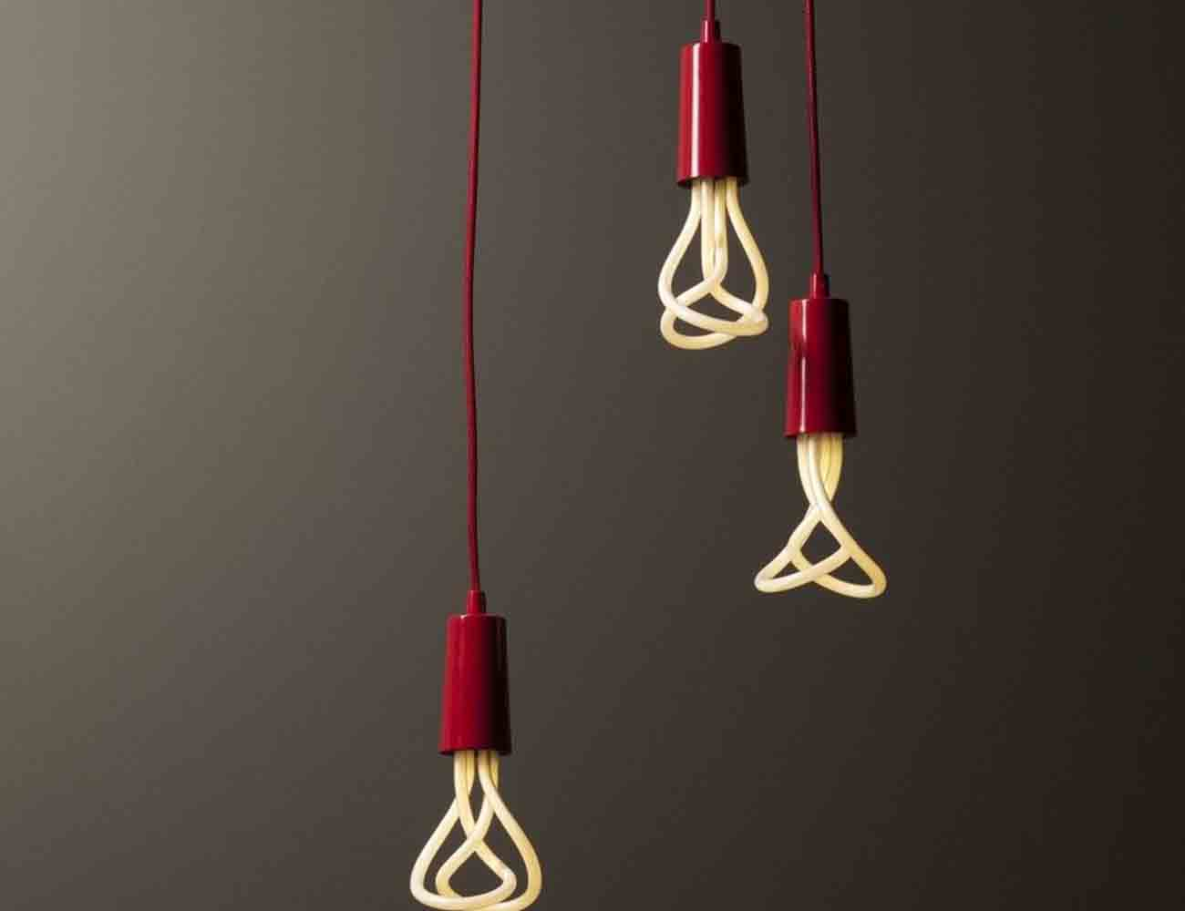 Plumen Pendant Drop Cap Set – Low Energy Light Bulb
