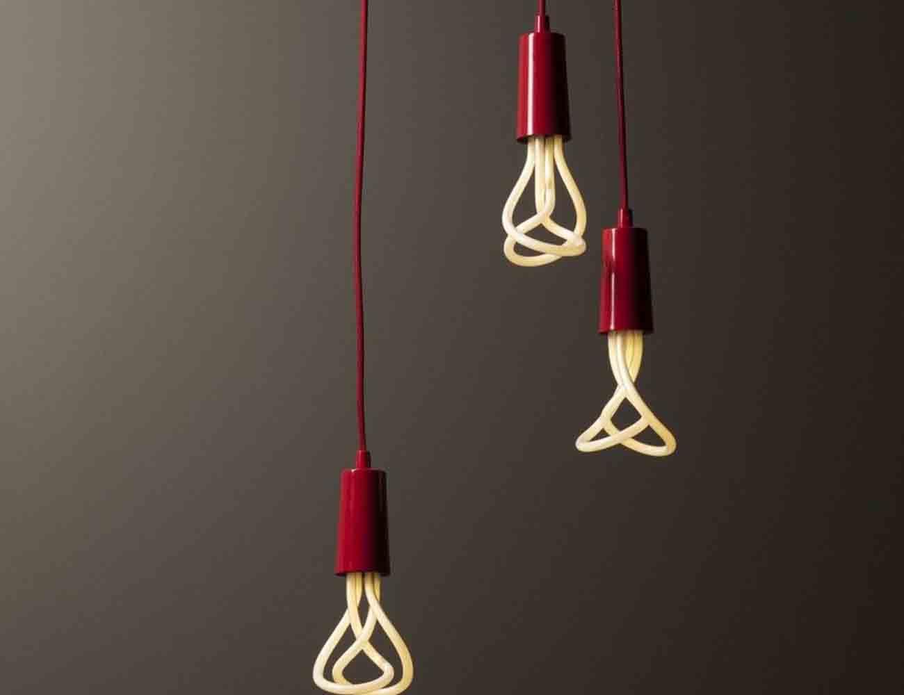 Plumen Pendant Drop Cap Set – Low Energy Light Bulb