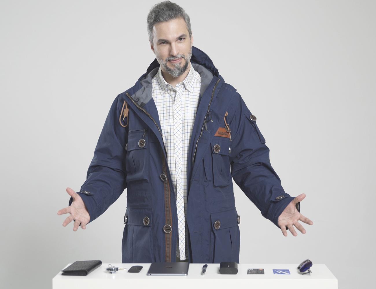 PowearIN2.0 – World First Modular Multi-purpose Travel Jacket
