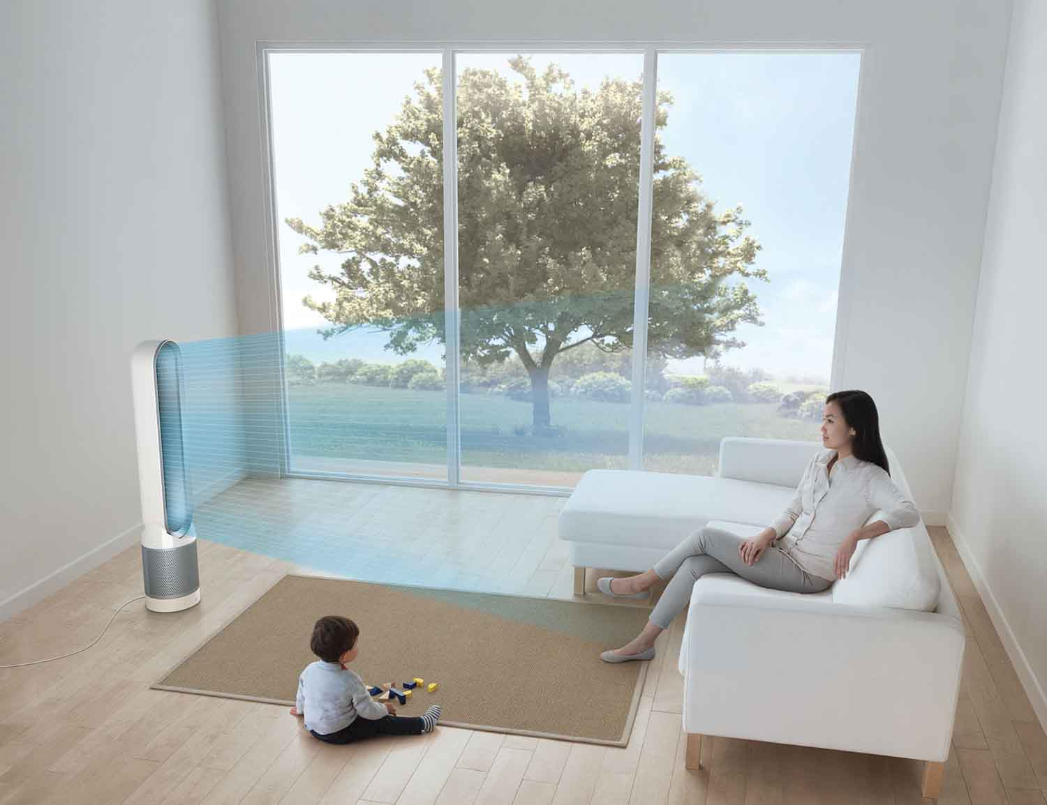 Pure Cool Link Air Purifier by Dyson