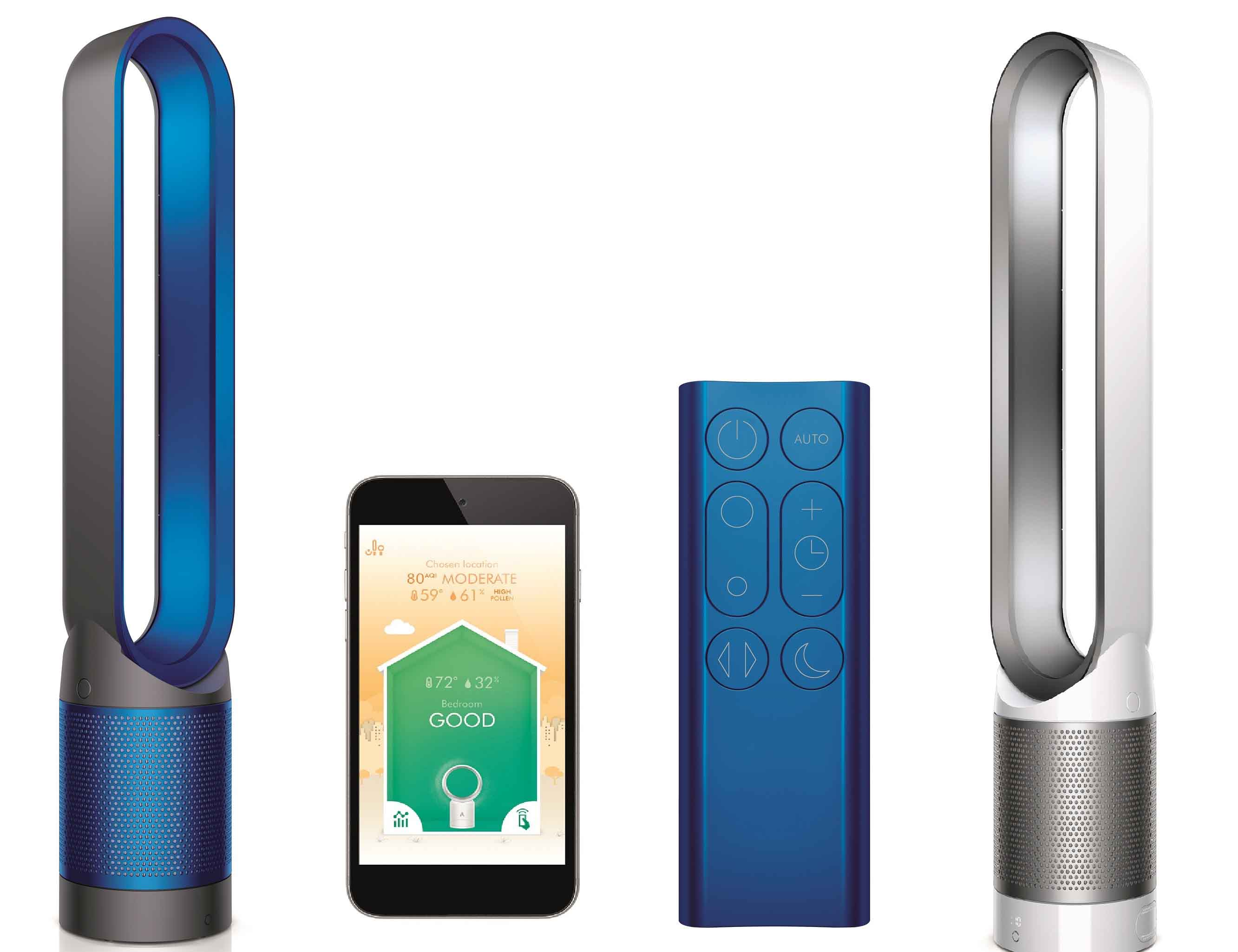 pure cool link air purifier by dyson gadget flow. Black Bedroom Furniture Sets. Home Design Ideas