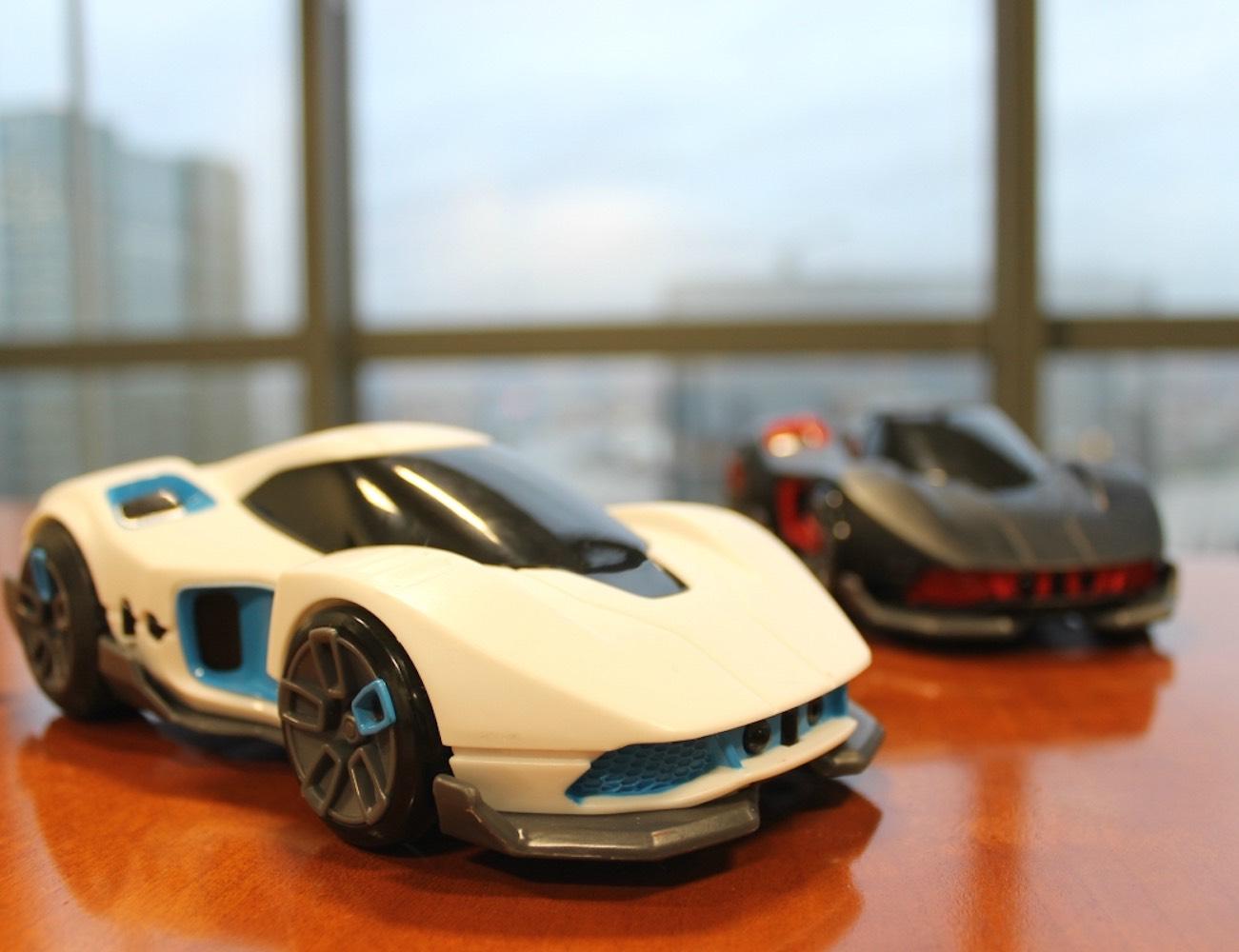 R.E.V. App-Enabled Battle Cars