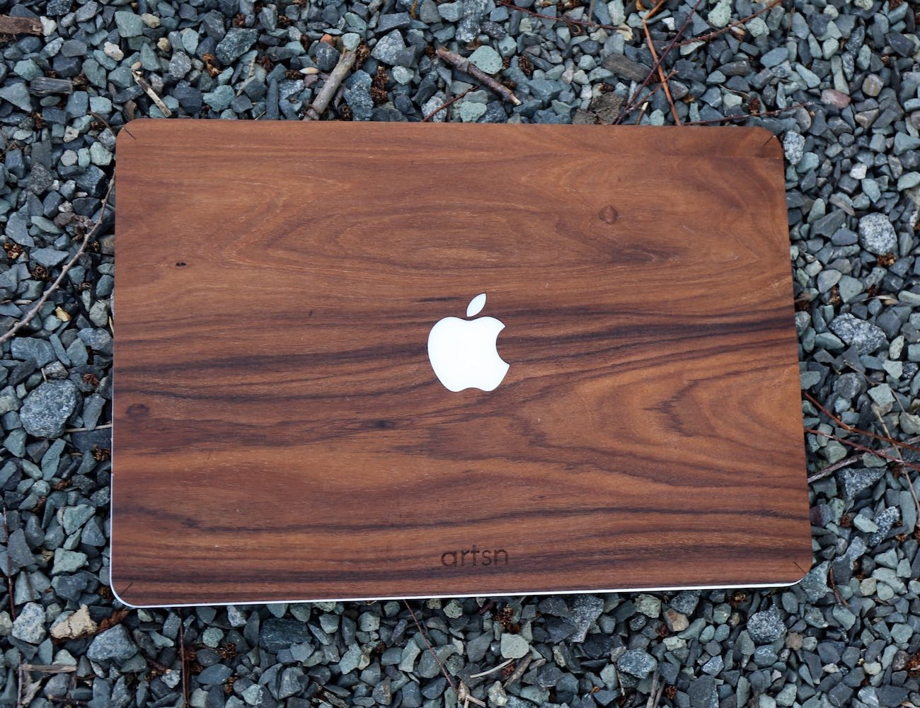 Real Rosewood Macbook Case