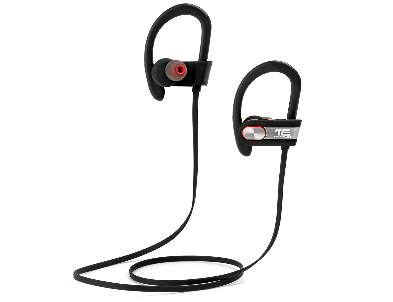 TechElec SP-X Sweatproof Sport Bluetooth Headphones With Microphone