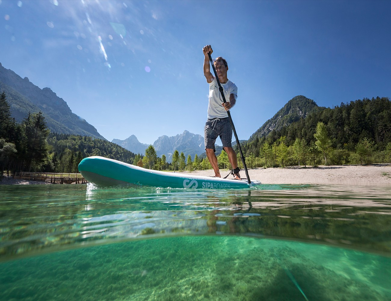The SUP revolution – Self-inflating SipaBoards Air