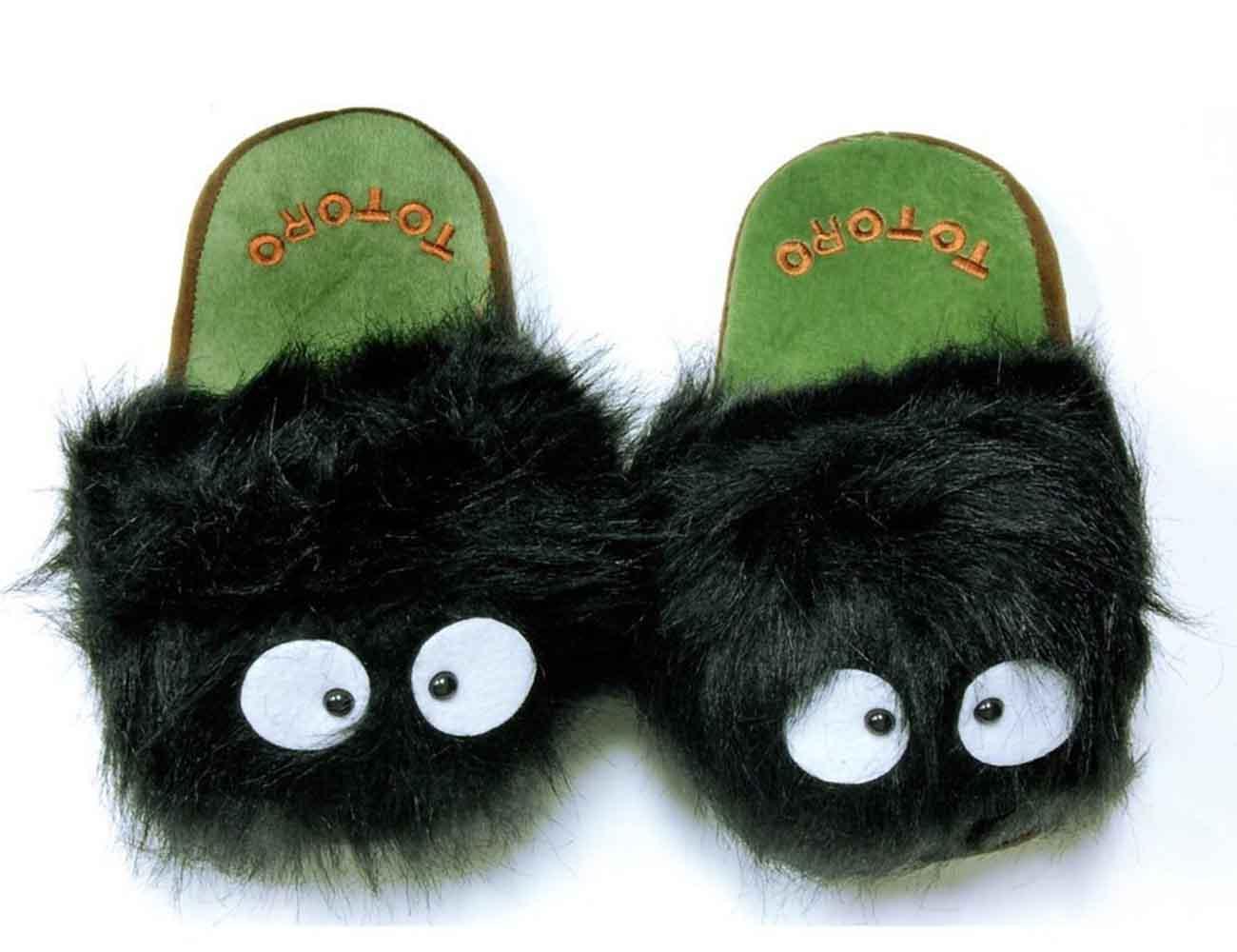 Totoro Dust Bunny Slippers by Studio Ghibli
