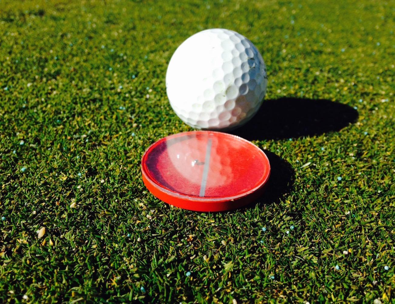TruSlope Golf Ball Marker