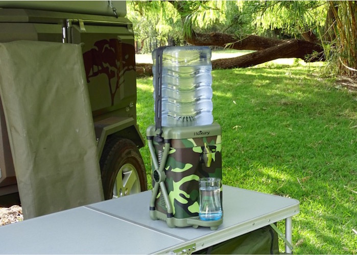The World's First Ever Truly Portable Extreme Water Cooler
