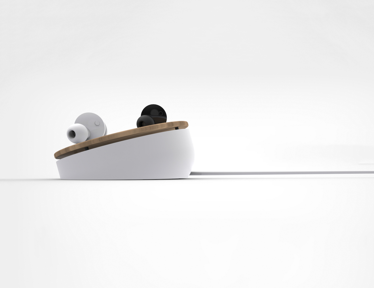 Truu Earbuds – World's First Wirelessly Charged Earbuds
