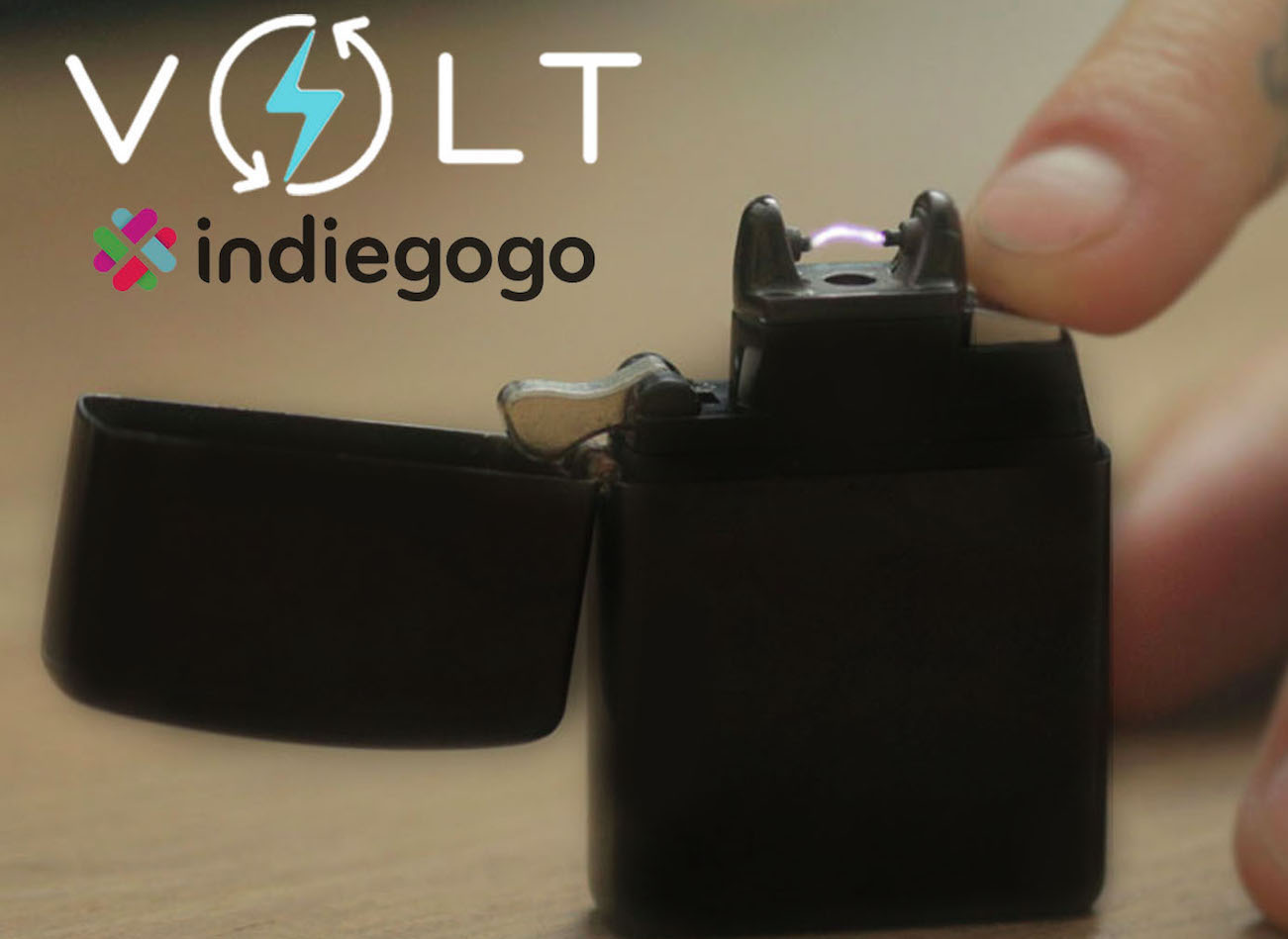 VOLT – Worlds First Most Eco-Friendly Ion Lighter
