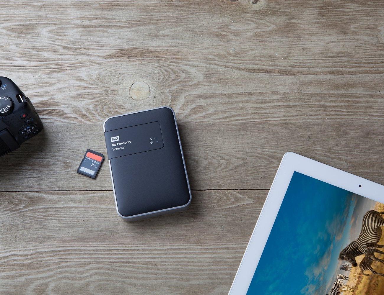 WD+My+Passport+2TB+Wireless+Hard+Drive