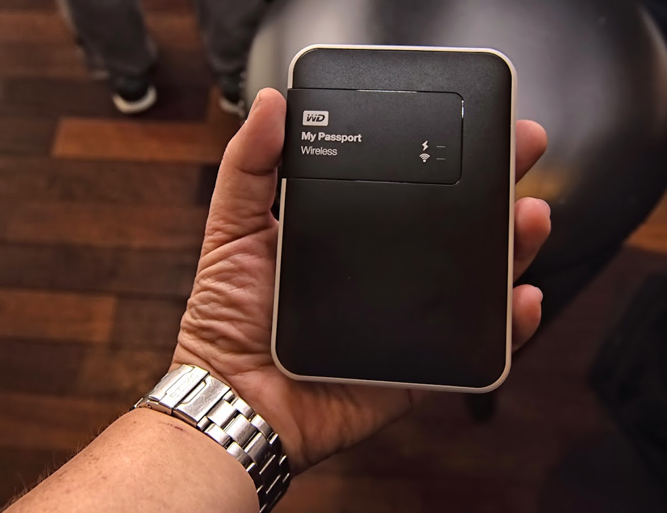 WD My Passport 2TB Wireless Hard Drive