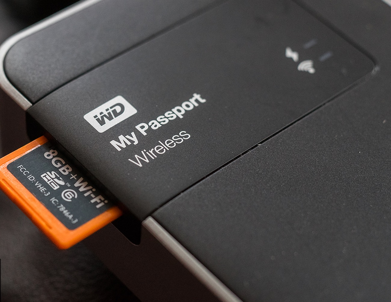 WD My Passport 2TB Wireless Hard Drive