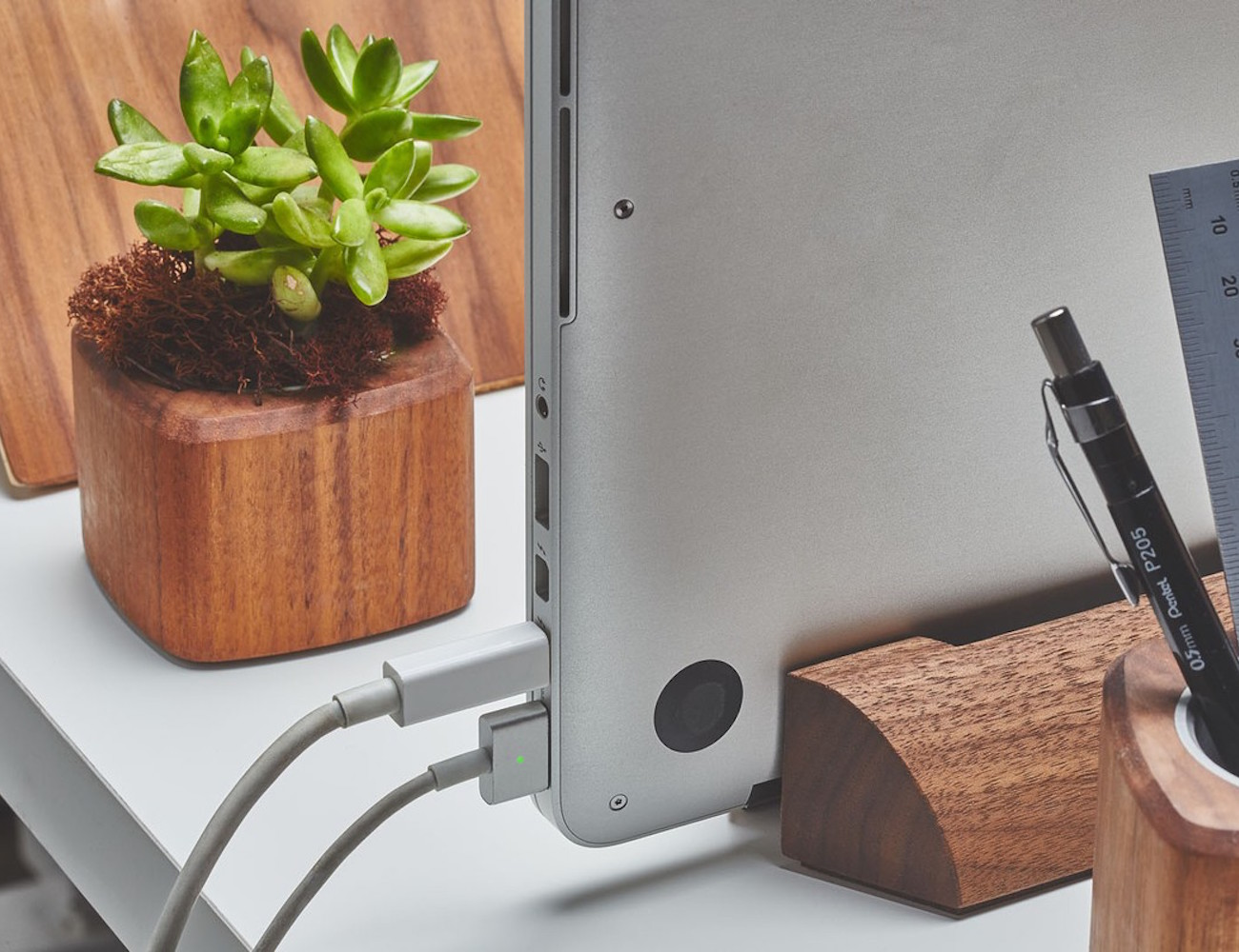 Walnut MacBook Dock by Grovemade